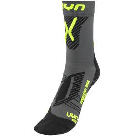 UYN Cycling MTB Light Socks Men Anthracite/Yellow Fluo